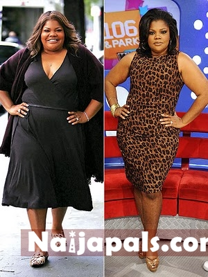 and talk show host, Monique tipped the scales at 300 pounds
